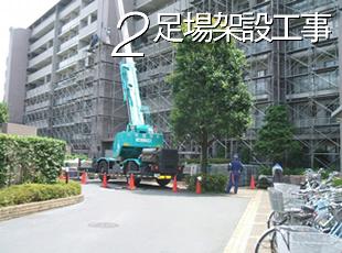 足場架設工事