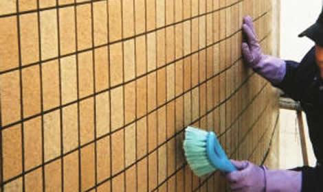 タイル専用薬品洗浄